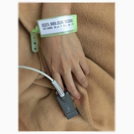 Jolina Magdangal - hospital tag