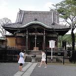 shrine in ueno in Ueno, Tokyo, Japan