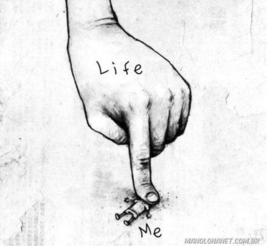 A vida e voce
