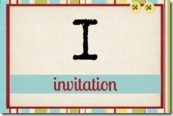 I - Invitation