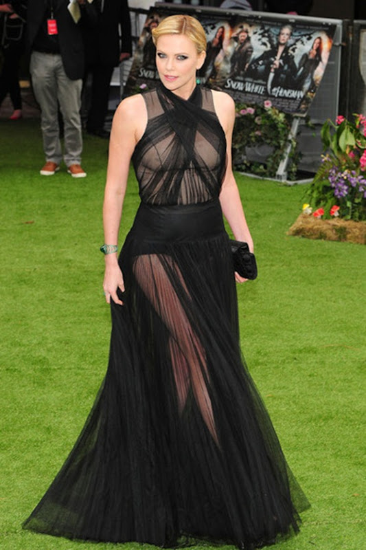 Charlize Theron in Christina Dior Couture
