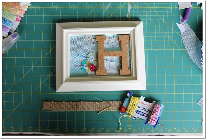 Monogram Letter Frames 7