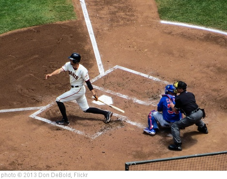 'Pence Fouls off a Pitch' photo (c) 2013, Don DeBold - license: http://creativecommons.org/licenses/by/2.0/