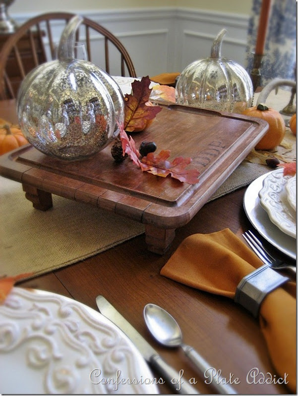 CONFESSIONS OF A PLATE ADDICT Pottery Barn Inspired Monogrammed Serving Board