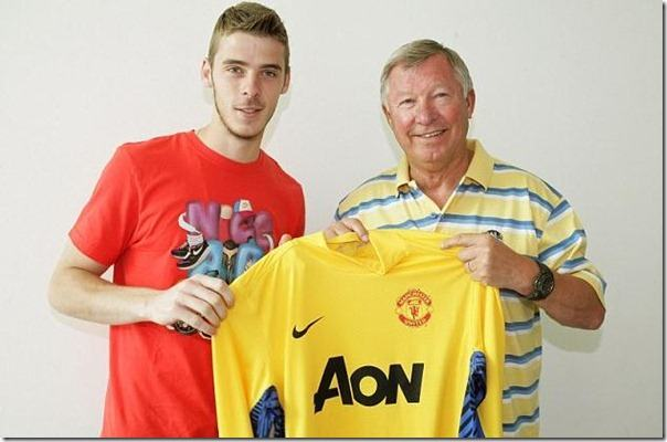 De Gea - one of Football Manager 2012 wonderkids