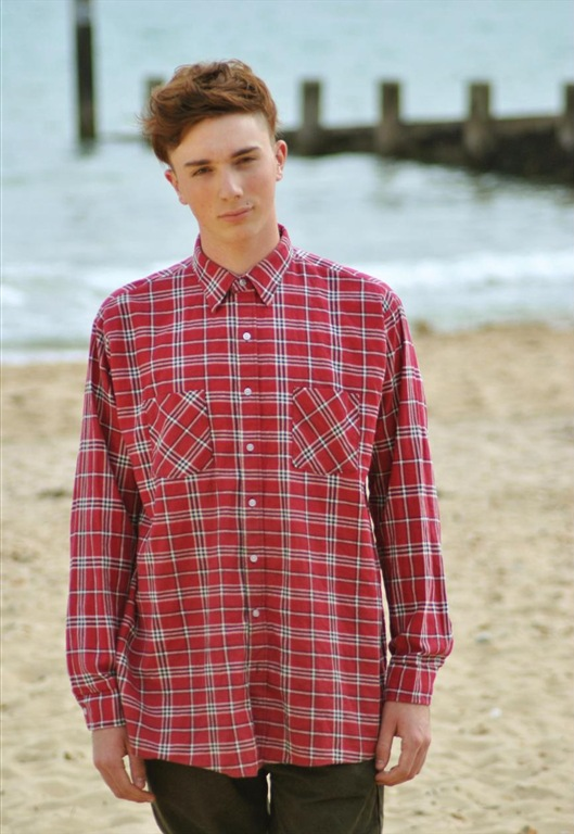 Vintage Red Check Shirt, £25.00, Jukebox