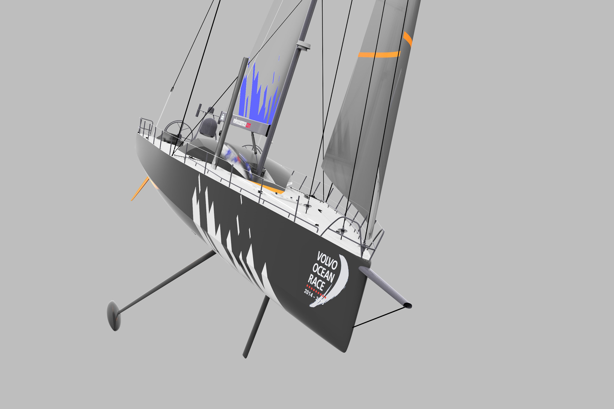 Donan Raven's Sailing Trivia: the design for the Volvo Ocean Race 2014-2015, 2017-2018