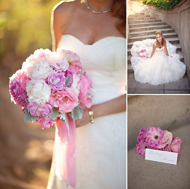 8OakandtheOwl_Pink Peony and Rose Bouquet