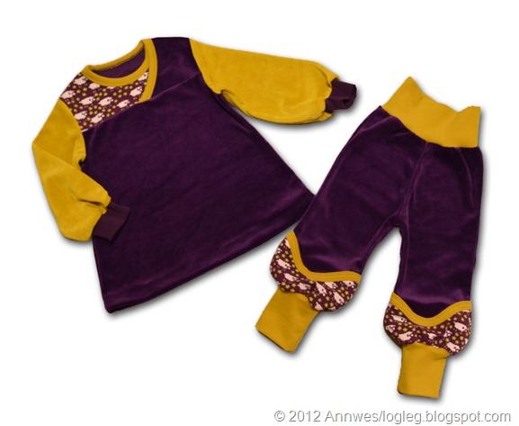 Bukse sydd etter mønster frå Heilt Spesiell og Jubel si bok