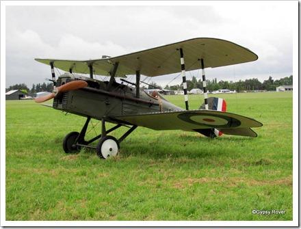 British SE 5A. 200HP capable of 135MPH.