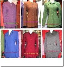 model pakaian dinas wanita terbaru