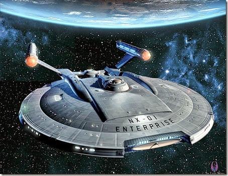 Enterprise - 100 YR Starship Warp Drive 2