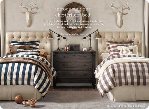 buffalo check bedroom neutral