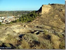 Ruinas de la iglesia de San Juan - Castillo de Monzón - Huesca