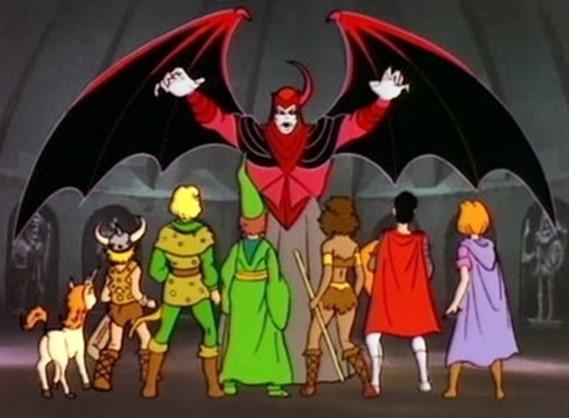 desenho-caverna-do-dragao-Dungeons-Dragons