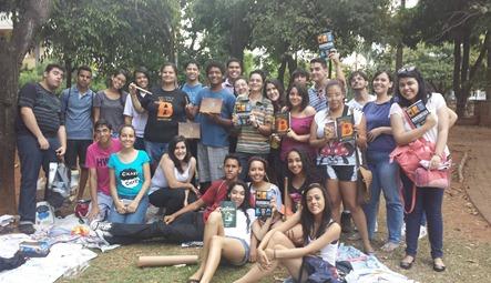 A Novo Conceito e a Cia das Letras apoiaram o evento com brindes e livros! :D