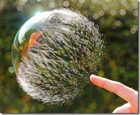 bolha de agua