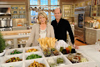 Martha Stewart and Peter Callahan linger over the