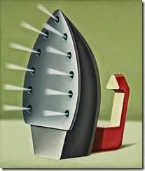 Konrad Klapheck, Die Fanatikerin, 1979
