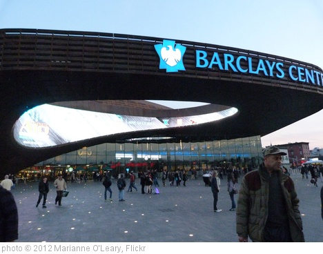 'Barclay's Center from Subway' photo (c) 2012, Marianne O'Leary - license: http://creativecommons.org/licenses/by/2.0/