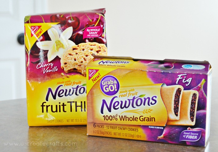 New Newtons Chewy Cookies and Fruit Thins