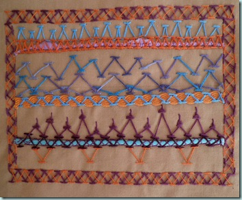 Wk 6 Chevron Stitch
