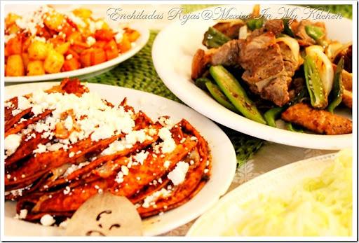 Recipe: Mexican Enchiladas - The Travel Bite