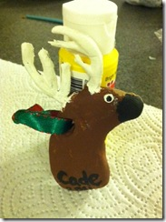 Cade deer ornament