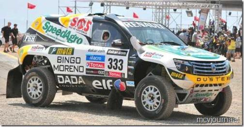 Dakar Rally Renault Duster 14