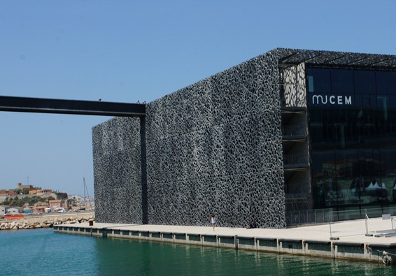 MuCem in Marseille France