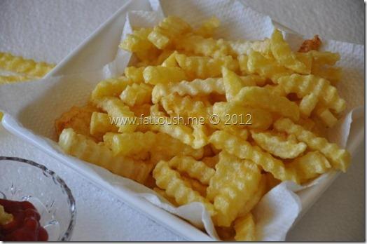 وصفة البطاطا المقلية من www.fattoush.me
