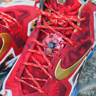 nike lebron 11 gr 2k14 8 05 James Wears Nike LeBron 11 2K14 to Celebrate Miamis Win