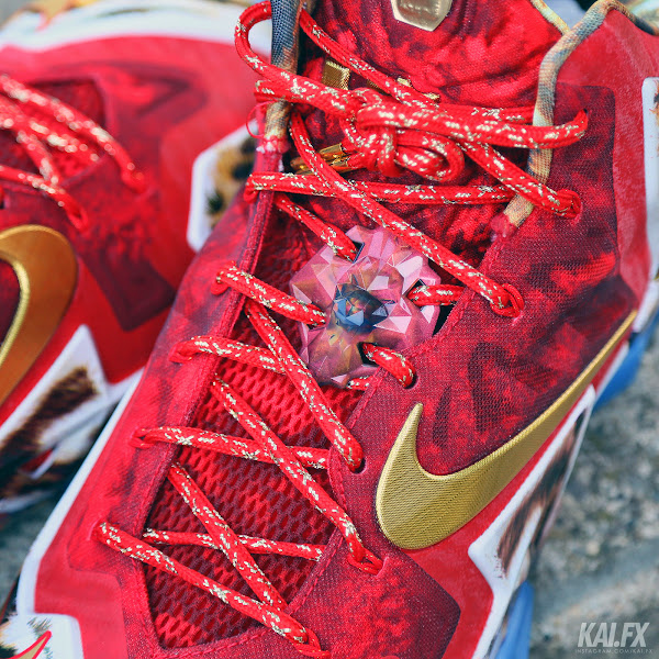 James Wears Nike LeBron 11 2K14 to Celebrate Miami8217s Win