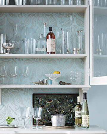This is the inspiration for Kerstin's finished bar.
