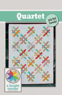 Quartet quilt pattern