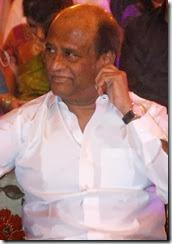 Actor Rajini @ Ravi Raghavendra Daughter's Wedding Photos