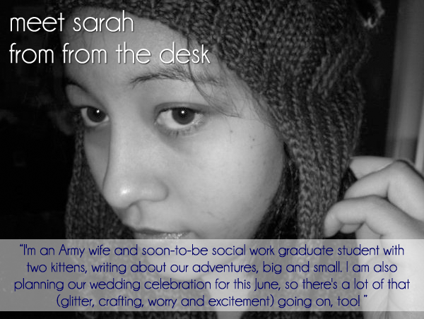 Sarah From the Desk