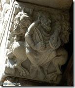 Músico - escultura románica - Basílica Saint Sernin