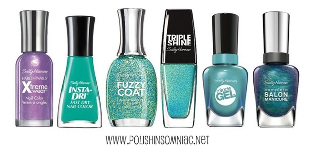 Sally Hansen Nail Polishes