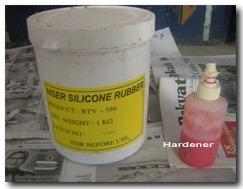 silicone rubber dan hardener