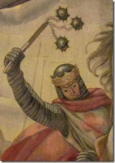 Sancho el Fuerte en el tapiz de las Navas del Palacio de Navarra