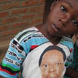 T-shirt met president
