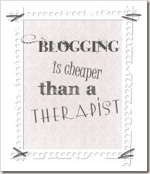 blogging is cheaper button copy