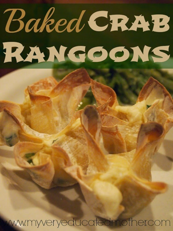 Bakedcrabrangoons #healthyrecipes #recipes #comfortfood @mvemother