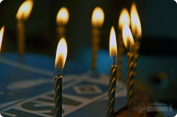 16. Geburtstag Dennis - Pusten, bitte!