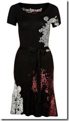 Desigual Black Dress