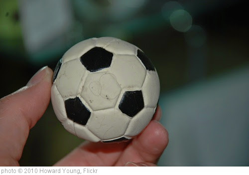 'Soccer Ball' photo (c) 2010, Howard Young - license: https://creativecommons.org/licenses/by/2.0/
