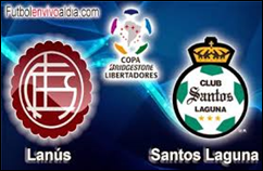 Santos Laguna de México vs Lanús de Argentina
