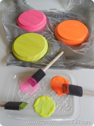 Sumo's Sweet Stuff - Mason Jar Glitter Votives