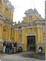 outside Hermano Pedro